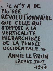 Annie Lebrun 1977