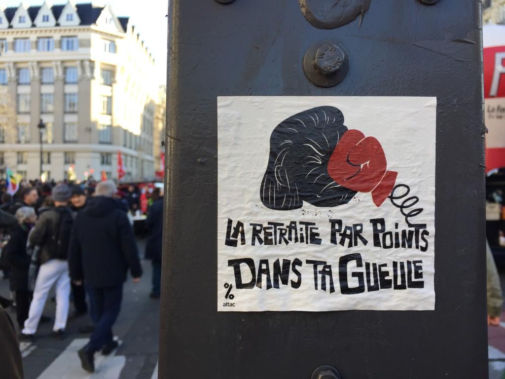 Paris 16 janvier 2020