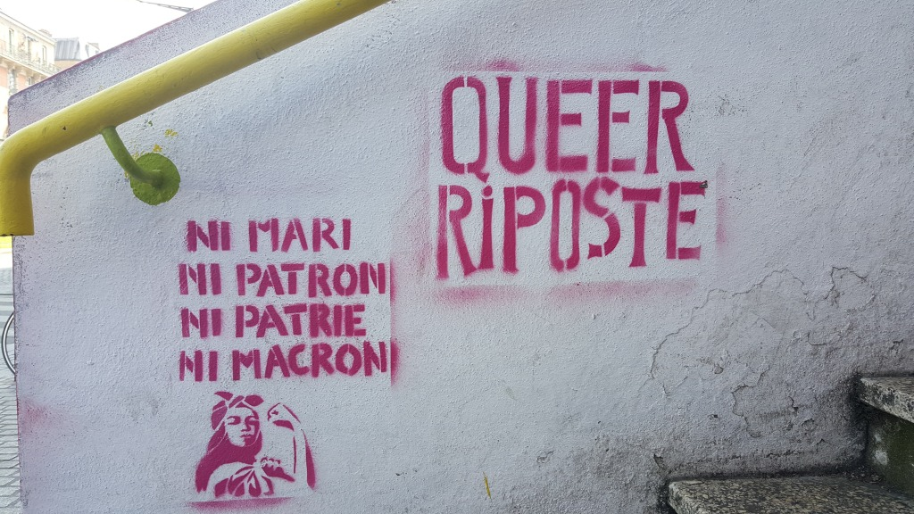 Queer riposte