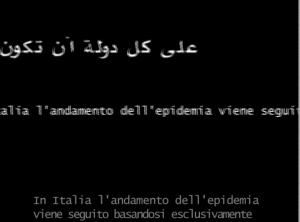 texte arabe et italien